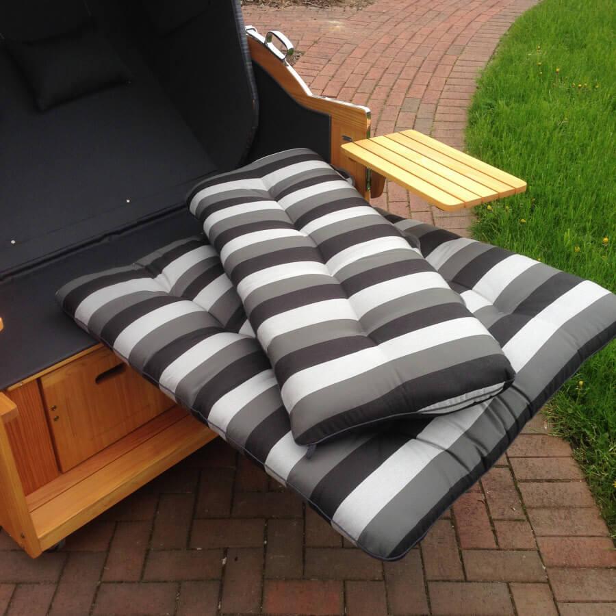 strandkorbpolster herausnehmbar strandkorb priess. Black Bedroom Furniture Sets. Home Design Ideas